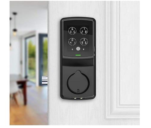 Lockly PGD728FMB Fingerprint Smart Deadbolt Door Lock