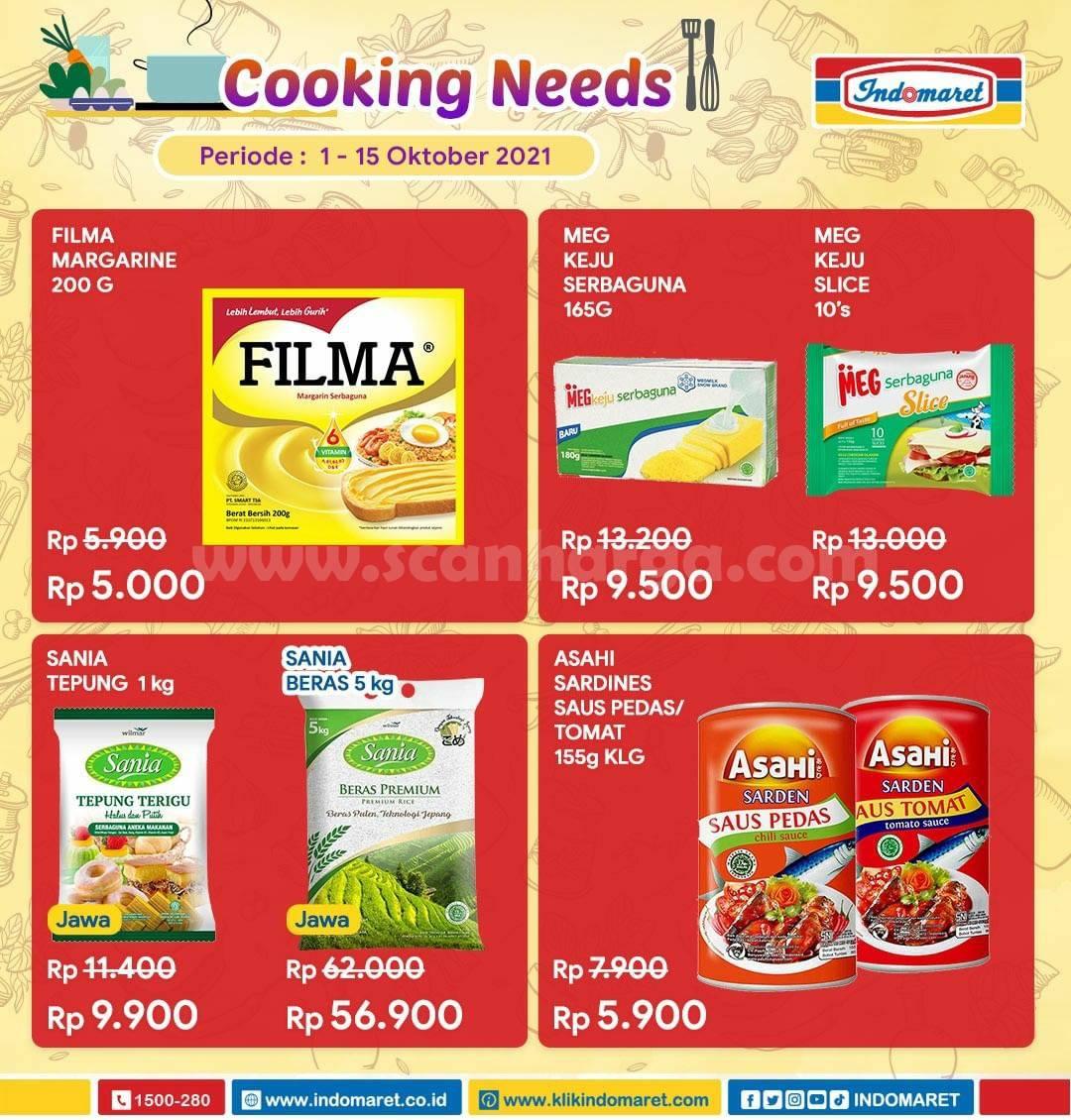 Promo Indomaret Cooking Needs hingga 15 Oktober 2021 2