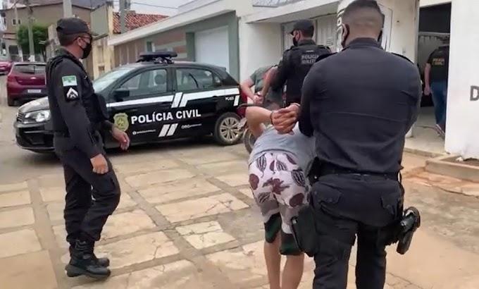 Criminosos invadem casa, fazem homem refém e são presos pela PM no interior do RN