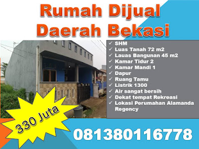 Rumah Dijual Di bekasi, Rumah Dijual Di bekasi Jawa Barat