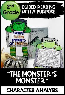 The Monster's Monster Halloween Reading Comprehension activity