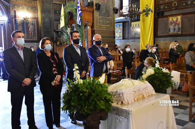 Πάνδημο Μνημόσυνο των Ευεργετών του Δήμου Ναυπλιέων
