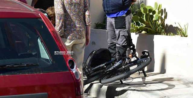 Τροχαίο με παράσυρση 13χρονου μαθητή με ποδήλατο στο Ναύπλιο