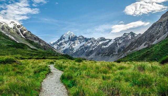 Hooker Valley South Island New Zealand