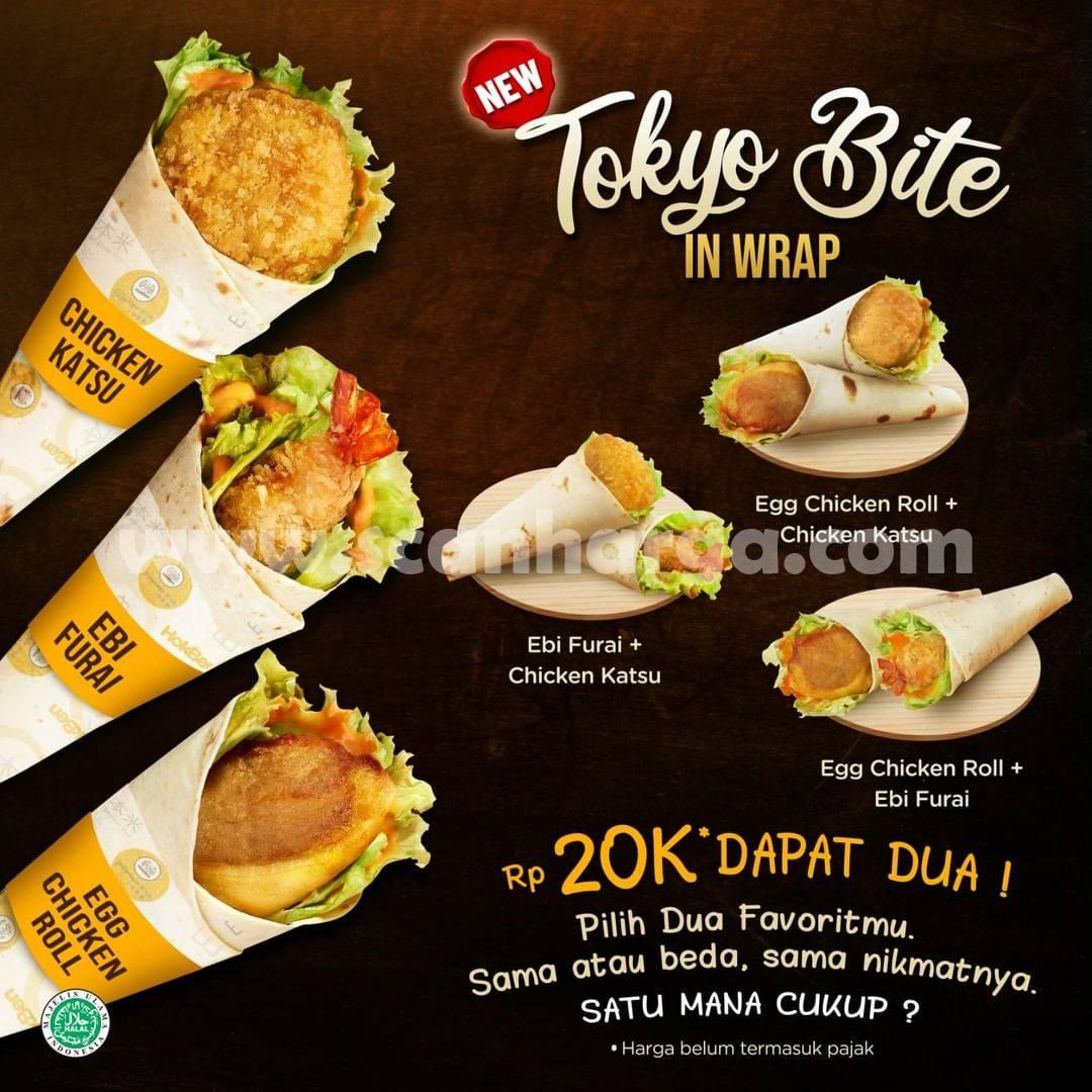 HOKBEN Tokyo Bite in Warp – Beli 2 harga cuma Rp. 20.000
