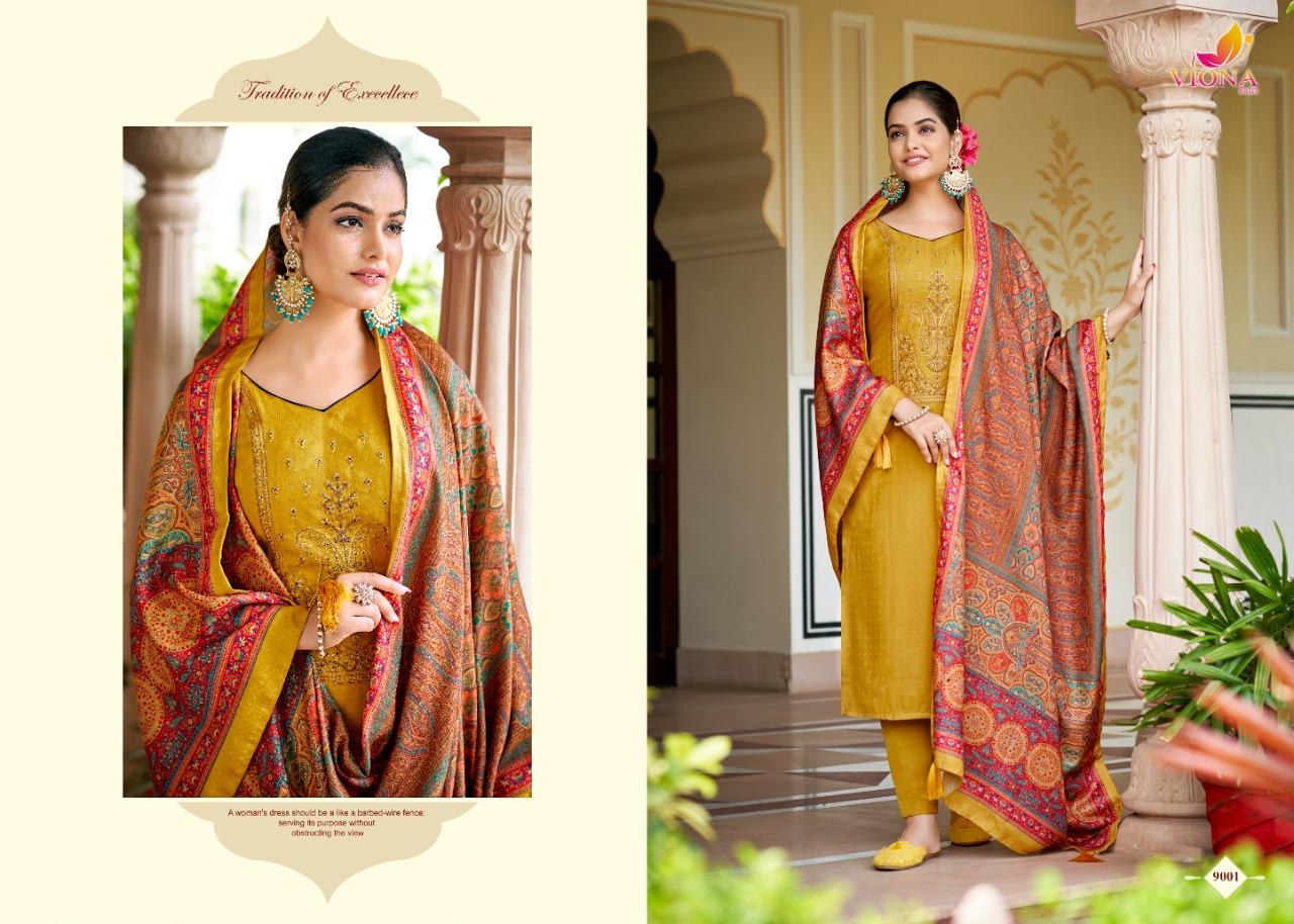 Viona Bawari Pashmina Suits Catalog Lowest Price