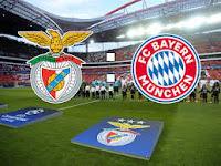 UCL: Benfica vs Bayern Munich Live Stream