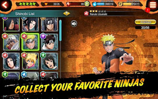 Download Naruto X Boruto Ninja Voltage MOD Apk Latest Version 2021