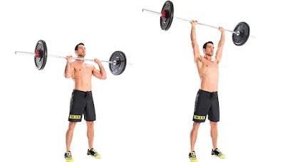 Standing Military Press, beginner strength training program