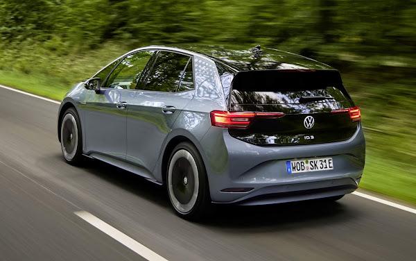 Elétrico ID.3 leva 70.000 novos consumidores para a Volkswagen