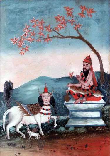 Vasishtha and Kamdhenu known as Shabala