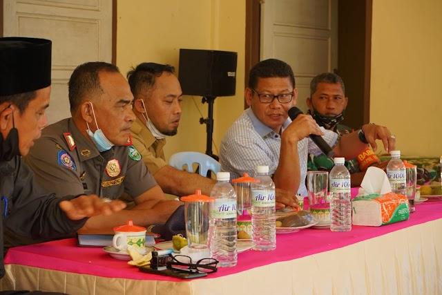 Pimpinan DPRD Bengkalis Sofyan Menghadiri Musrenbang Desa Jangkang