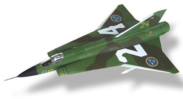 aviones de combate J.35F Draken