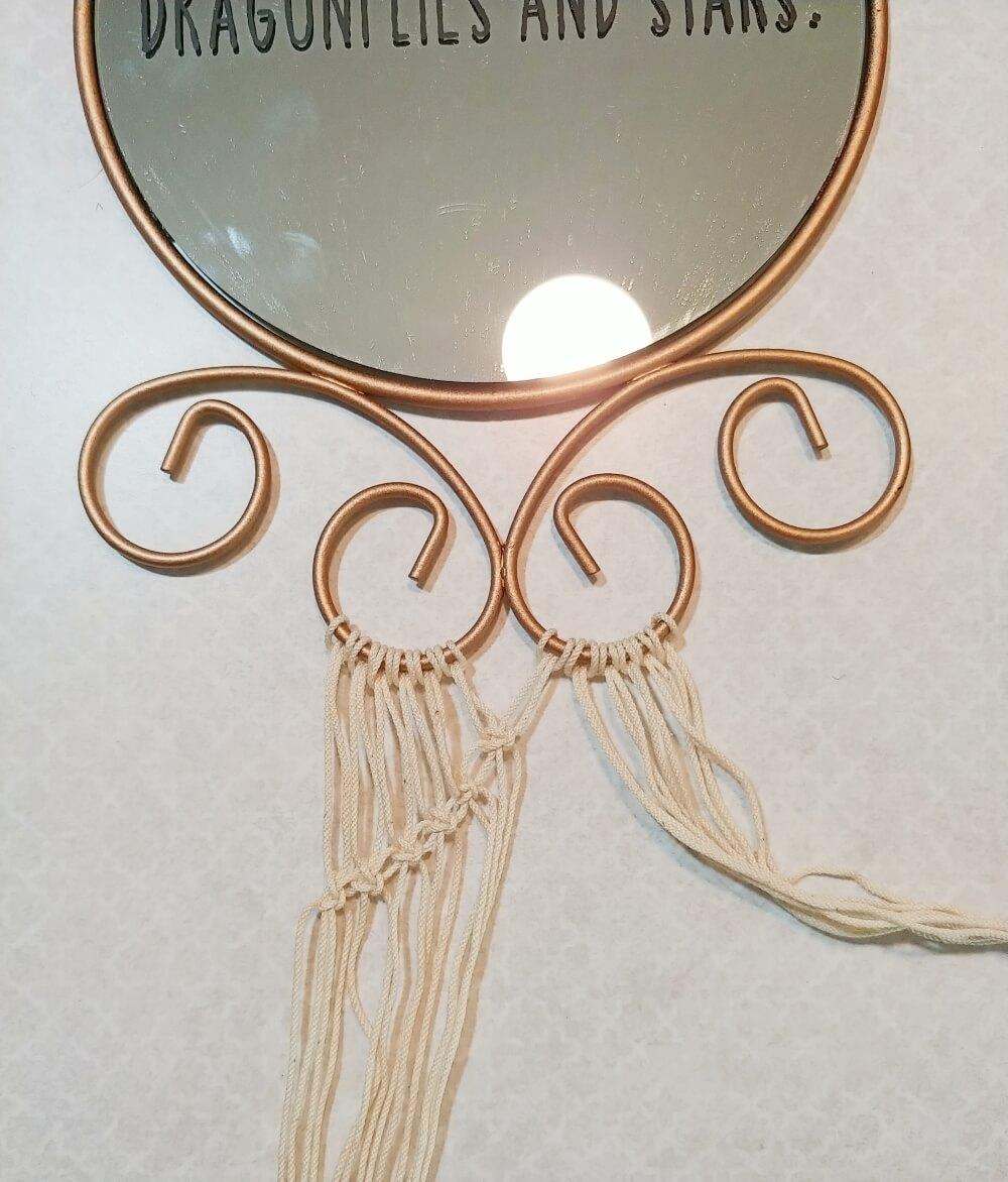 Mirror Upcycle Thrift Shop Flip