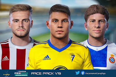 PES 2021 FacePack V19 by CongNgo