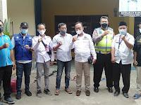 Camat Pakuhaji Lakukan Monitoring Vaksinasi di Desa Rawa Boni Bersama TNI,Polri dan Puskesmas Pakuhaji