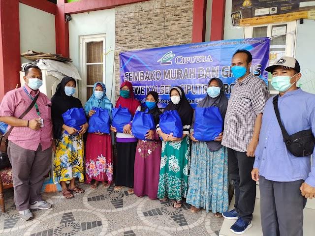Gandeng Ciputra Group, FWE Kalsel Hadirkan Sembako Murah dan Gratis Untuk Masyarakat
