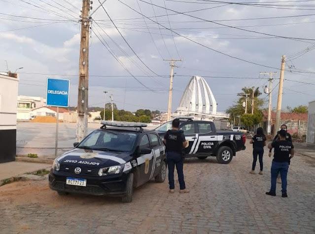 Polícia Civil realiza operação de combate à diversos crimes no interior DA bAHIA