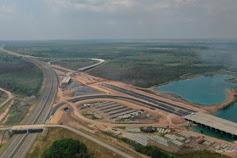 Jalan Tol Tebingtinggi-Siantar Selesai 2021, Ruas Parapat Ditargetkan Tuntas 2023