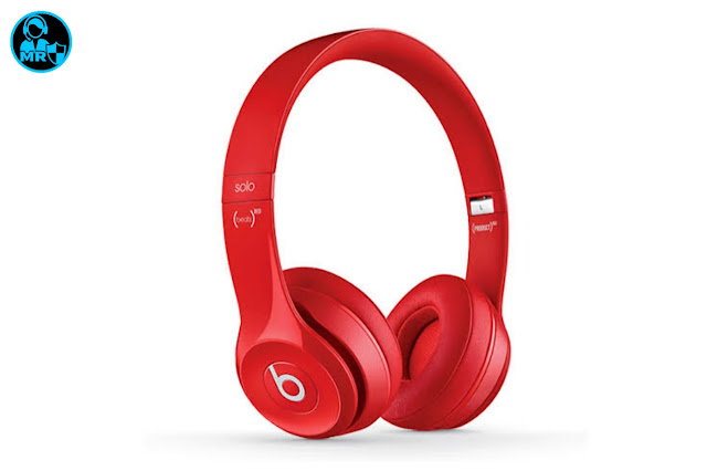 Red Headphone with wireless 2