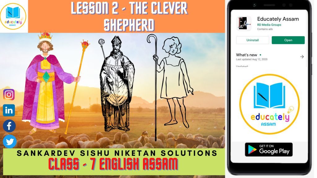The Clever Shepherd All textual Questions and Answers | Lesson 2 | Class 7