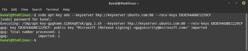 How to add a public key [PUBKEY] to your Linux system
