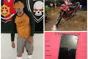 Tersangka Curas Terkapar Ditembak Polisi di Asahan