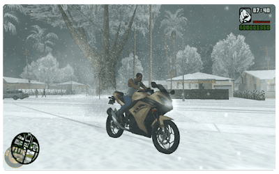 Download GTA San Andreas Snow Highly Compressed for PC