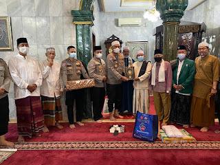 Kali ini, Masjid Jami Nurul Falah, Ragunan Jadi Sasaran Program Suling Polda Metrojaya
