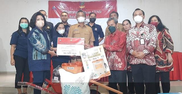 Balai Melati Jakarta Serahkan Bantuan kepada 180 Penerima Manfaat di Taput