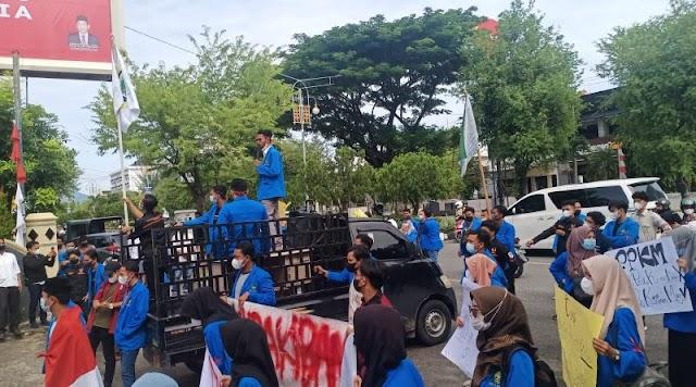 Polisi Amankan Presma dan Korlap Aksi Unjuk Rasa di DPRA