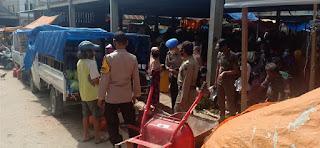Operasi Yustisi Rutin Di Laksanakan Personel Polsek Baraka Polres Enrekang Guna Mengurangi Penyebaran Covid-19