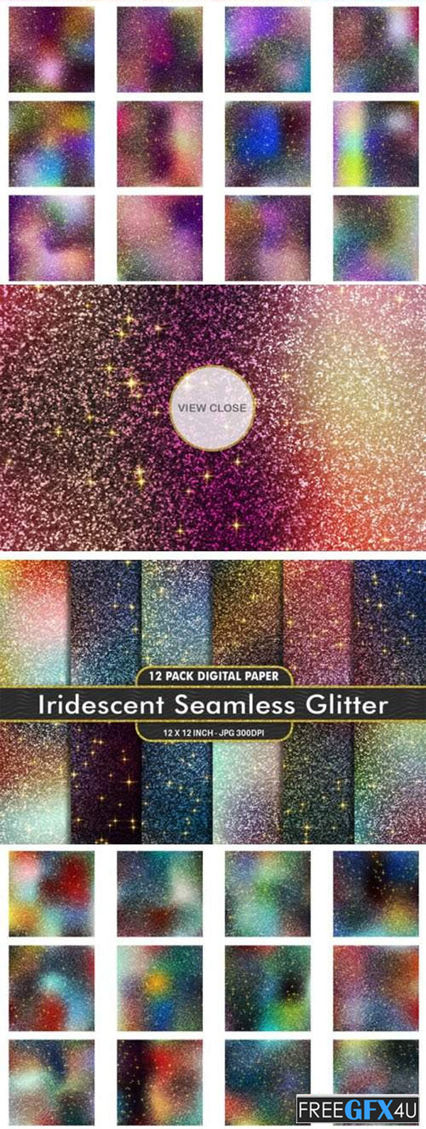 60 Awesome Glitter Textures Collection