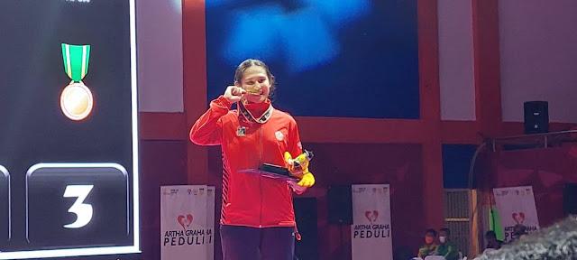 Karateka Peraih Perak SEA Games Sumbang Emas untuk DKI Jakarta.lelemuku.com.jpg