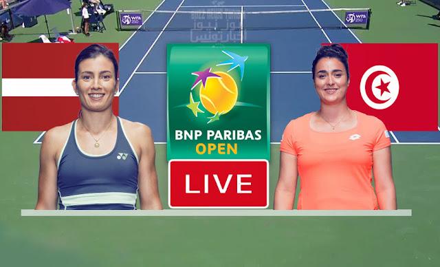DIRECT / LIVE - Ons Jabeur - Anastasija Sevastova WTA Indian Wells - 09 octobre 2021
