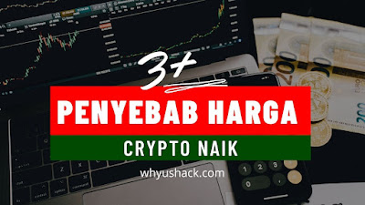 3 Penyebab Harga Crypto Naik