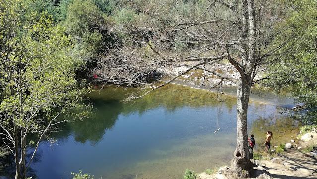 Praia Fluvial do Ceira - Serpins