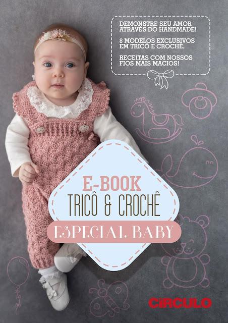 E-book Tricô e Crochê Especial Baby