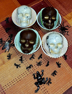 What to put in a spooky basket.