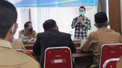 Dinas Kominfo Sosialisasi dan Pembinaan Nagari Statistik Kabupaten Solok Tahun 2021