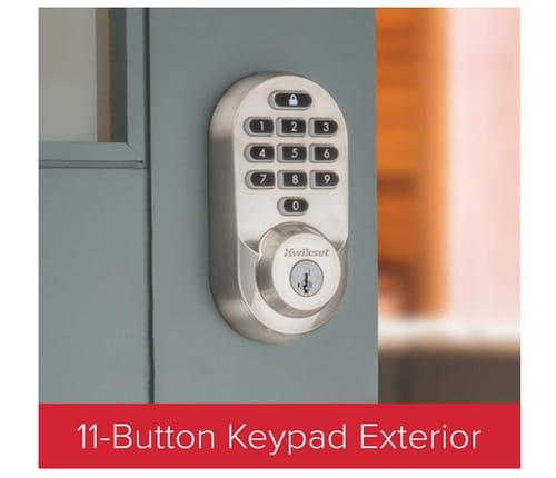 Kwikset 99380-001 Halo Wi-Fi Smart Lock Keyless Entry
