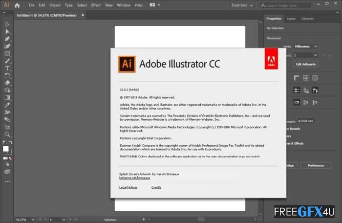 Adobe Illustrator CC 2020