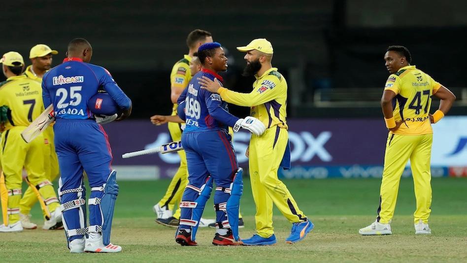 IPL 2021, DC Vs CSK: Delhi Capitals won the last over with a four