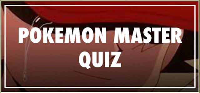 Pokémon Master Quiz Answers | Be Quizzed