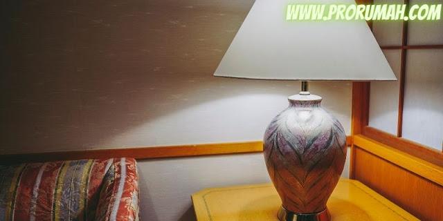 tips menata dekorasi kamar - memilih jenis lampu yang tepat