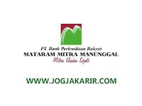 Loker Jogja Oktober 2021 di PT Bank Perkreditan Rakyat Mataram Mitra Manunggal