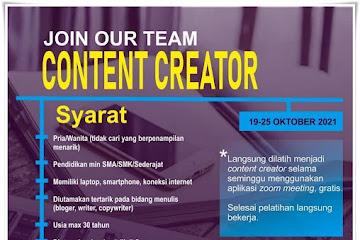 Loker Bandung Content Creator Jurnal Garut
