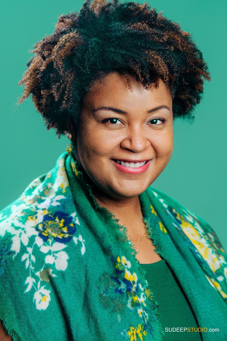 Professional Portraits for Writer Author Book Cover Black Business Communicator SudeepStudio.com Ann Arbor Author Headshot Photographer