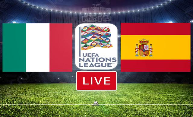 Match FootBall: Italie vs Espagne En Direct   Ligue des nations de l'UEFA