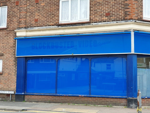 The former Blockbuster Video Express store in Clacton-on-Sea, Essex